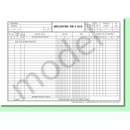 Registru casă orizontal A4, autocopiativ, 2 exemplare