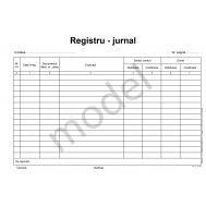 Registru jurnal A4 – faţă