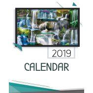 Calendar cascade 2019