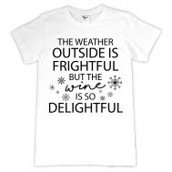 Tricou personalizat The weather and the wine