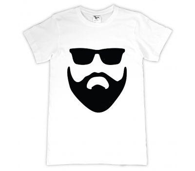 Tricou personalizat Me & my beard